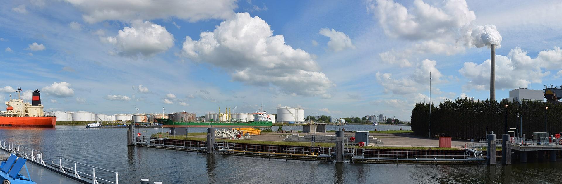 Industrie: oplossingen in de haven van Amsterdam