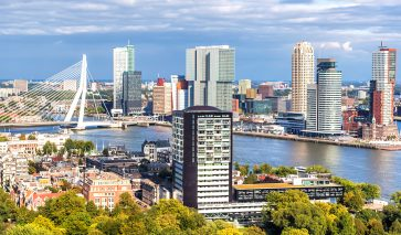 Ruimtelijke ordening en ruimtelijke plannen, zoals in gebied Rotterdam
