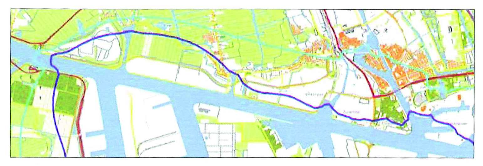 Noise Contours around Westpoort area | DGMR