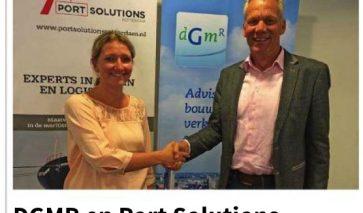 Samenwerking DGMR / PSR in Scheepvaartkrant