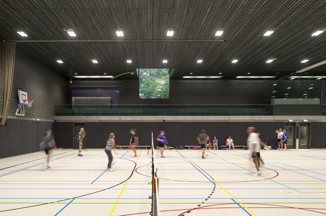 MFC De Rozenburcht, sporthal   DGMR