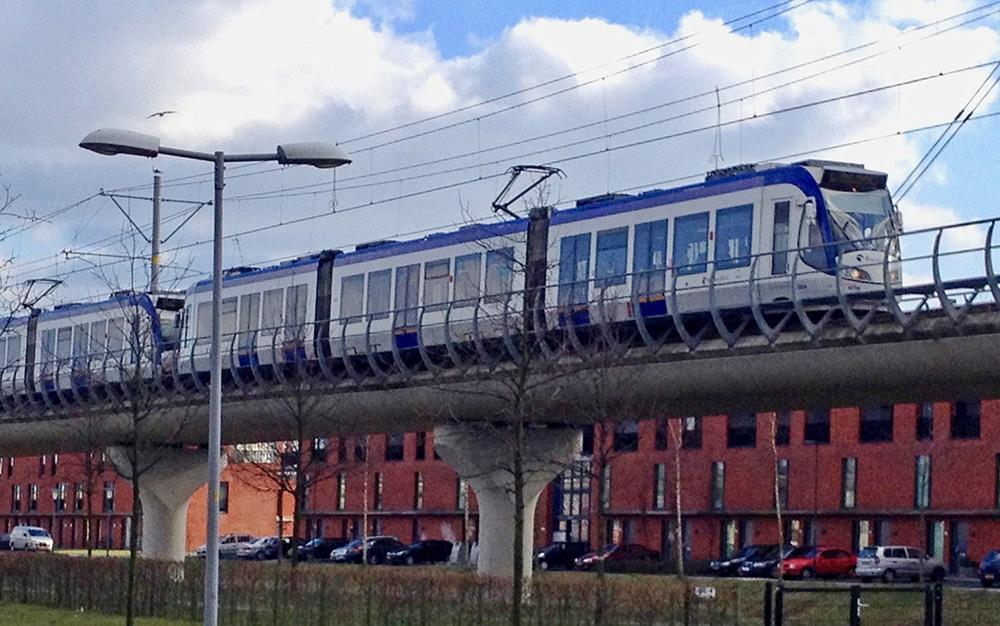 Randstadrail bij Oosterheem-viaduct | DGMR