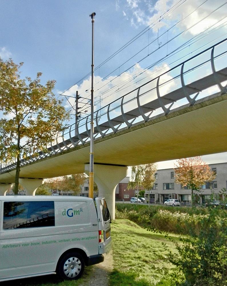 Geluidmetingen bij Randstadrail Zoetermeer | DGMR