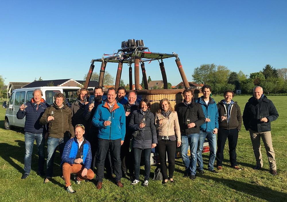 Ballonvaart met relaties | DGMR