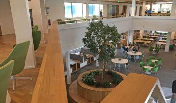 RDW Veendam, atrium | DGMR