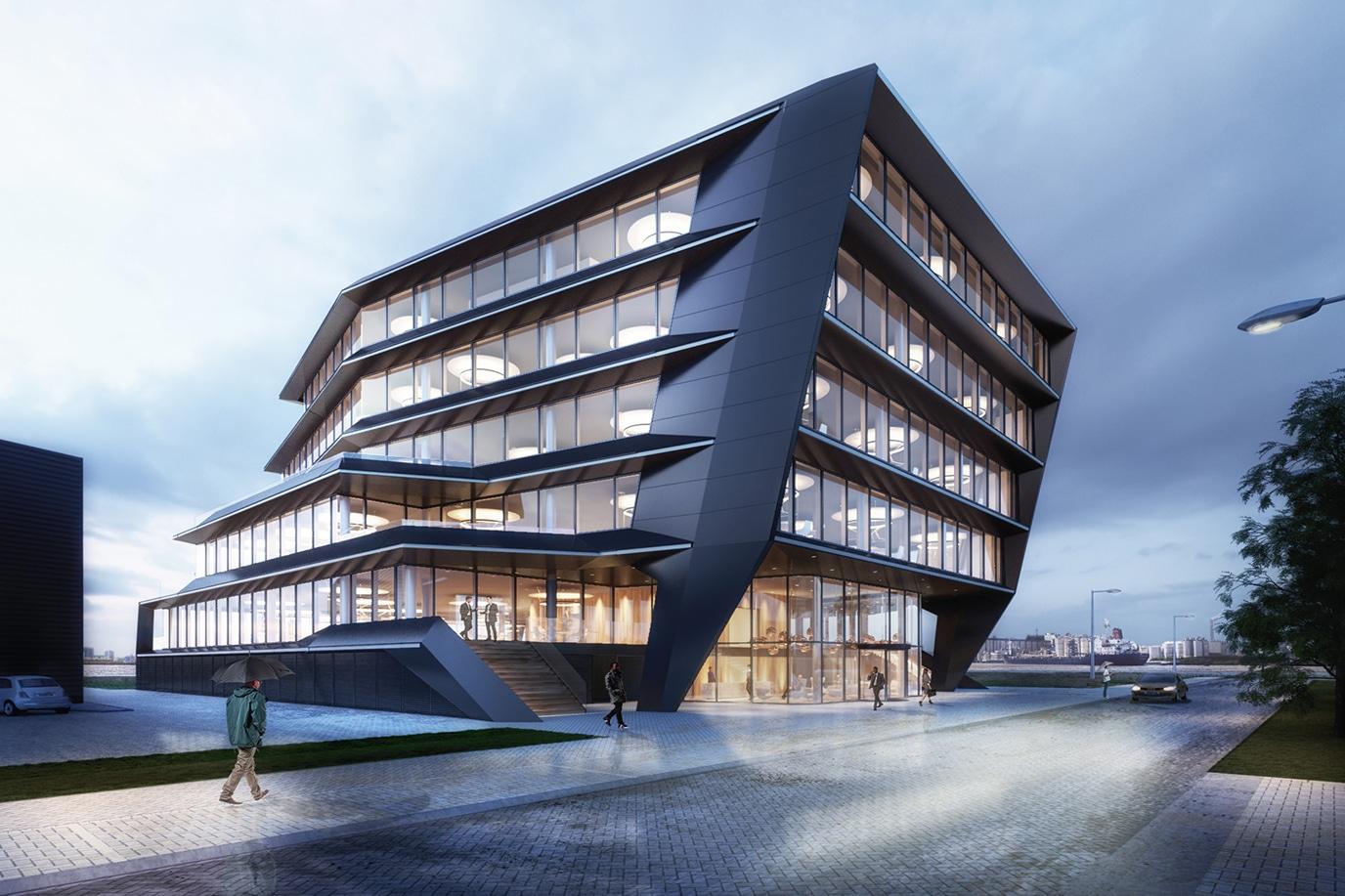 Flow Houthavens zijkant, WELL-gebouw | DGMR