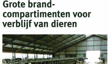 Brandcompartimenten veestallen | DGMR