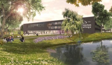 Gevel Mgr. Frencken College Oosterhout | DGMR