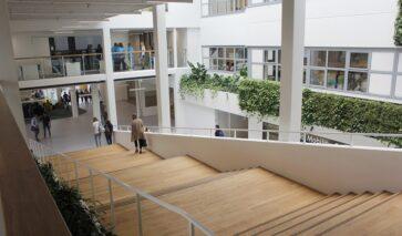 Atrium Stenden University Leeuwarden | DGMR