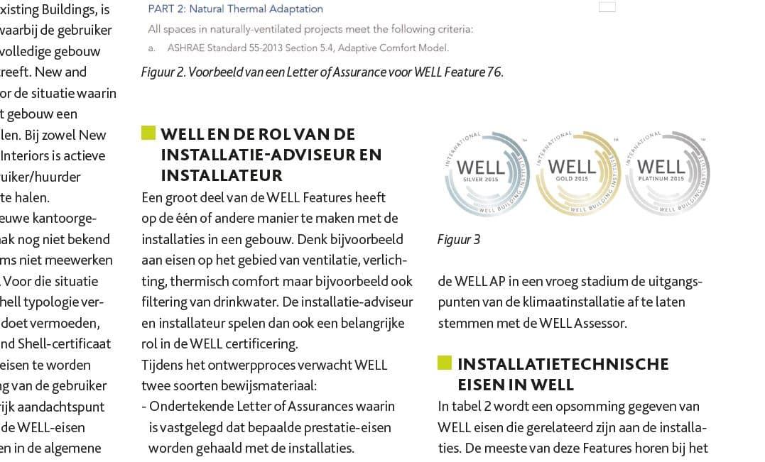 WELL voor installateurs en adviseurs | DGMR