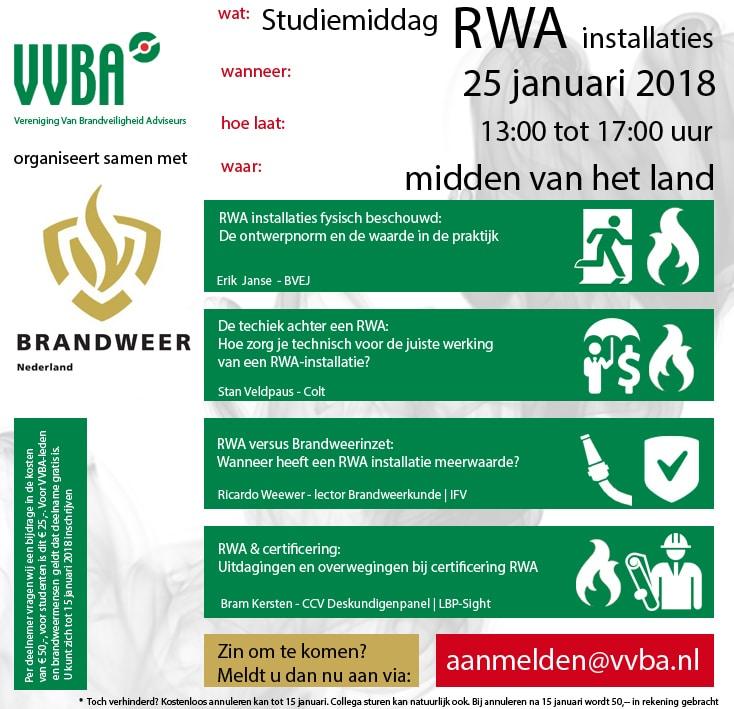 Studiemiddag RWA-installaties VVBA | DGMR