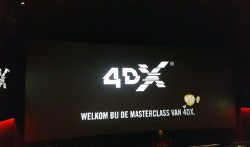 Pathé De Kuip Rotterdam, 4DX   DGMR