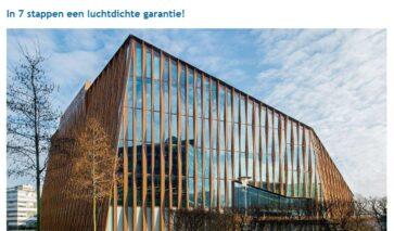 Garantie voor Luchtdicht bouwen in 7 stappen, whitepaper | DGMR