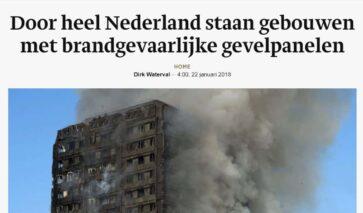 Nederlandse gebouwen met risicopanelen | DGMR