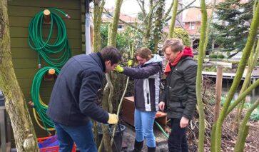 Onderhoud tuin Greens voor NLdoet 2019