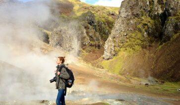 Fotograaf Ursula Jernberg in IJsland gaat de stilste plek op aarde vastleggen