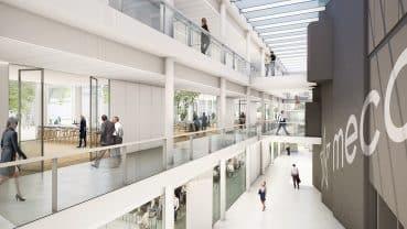 Impressie van toekomstgericht MECC Maastricht