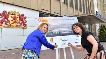 Ondertekening voor verduurzaming Provinciehuis Zuid-Holland