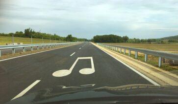 Zingende Weg in Hongarije