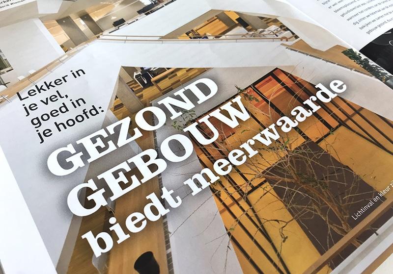 cover advisie met artikel Gezond gebouw biedt meerwaarde