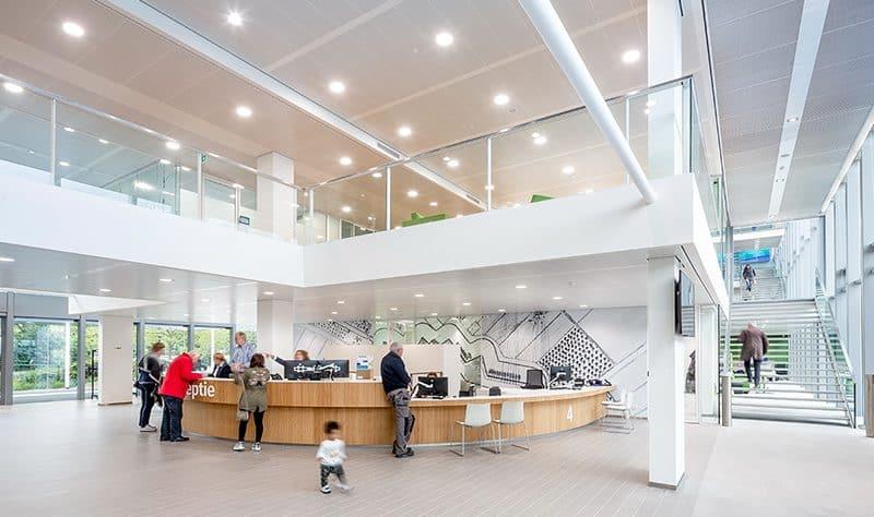 Receptie van het nieuwe gemeentehuis Woerden
