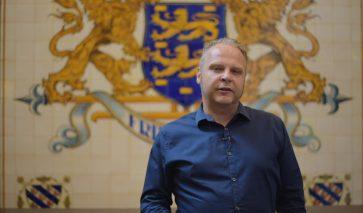 Dirk Lont van de provincie Friesland over de Zingende Weg.