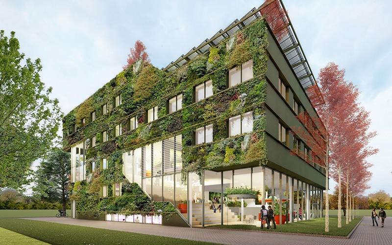 DGMR betrokken bij groene nieuwbouw Aeres Hogeschool Almere