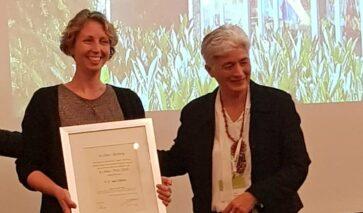 Froukje van Dijken wint B.J. Max Prijs 2019 voor gezonder binnenmilieu in scholen