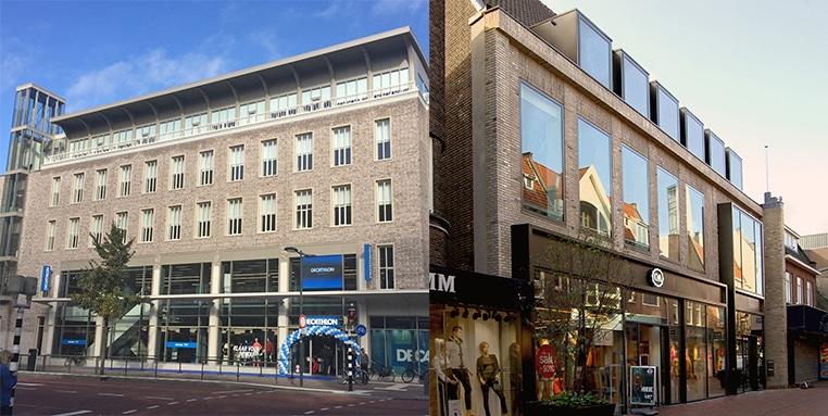Veilig winkelen in winkelpanden Utrecht Vredenburg en Hilversum