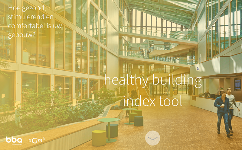 Healthy Building Index Tool geschikt voor WELL