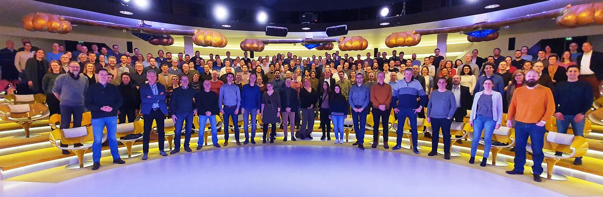 Ingenieurs en adviseurs van onafhankelijk ingenieursbureau DGMR in 2020