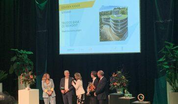 Gouden Kikker voor duurzaam kantoor Triodos Bank