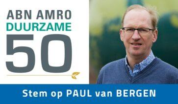 Paul van Bergen voor Duurzame 50
