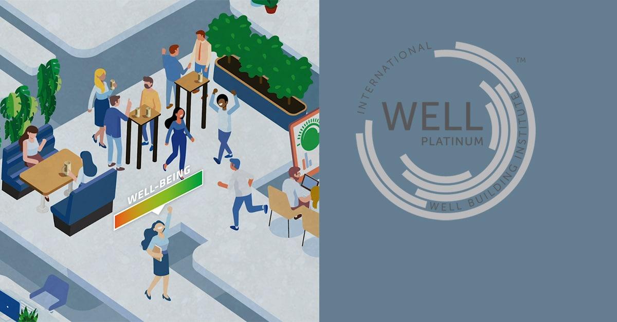 WELL Platinum voor DGMR kantoor Den Haag