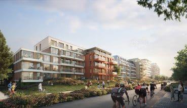 Ontwikkeling van Olympiade in Amstelveen