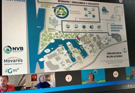Masterclass over duurzaamheid bij binnenhavens.