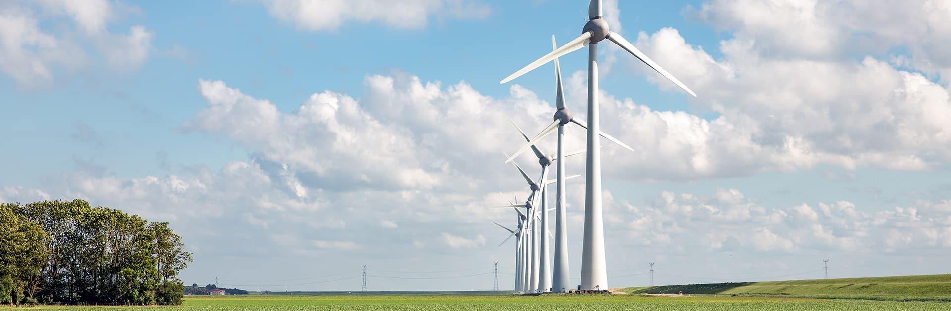 Windturbines en hinder