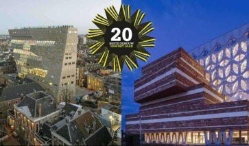 Forum Groningen en Naturalis bij genomineerden BNA Beste gebouw