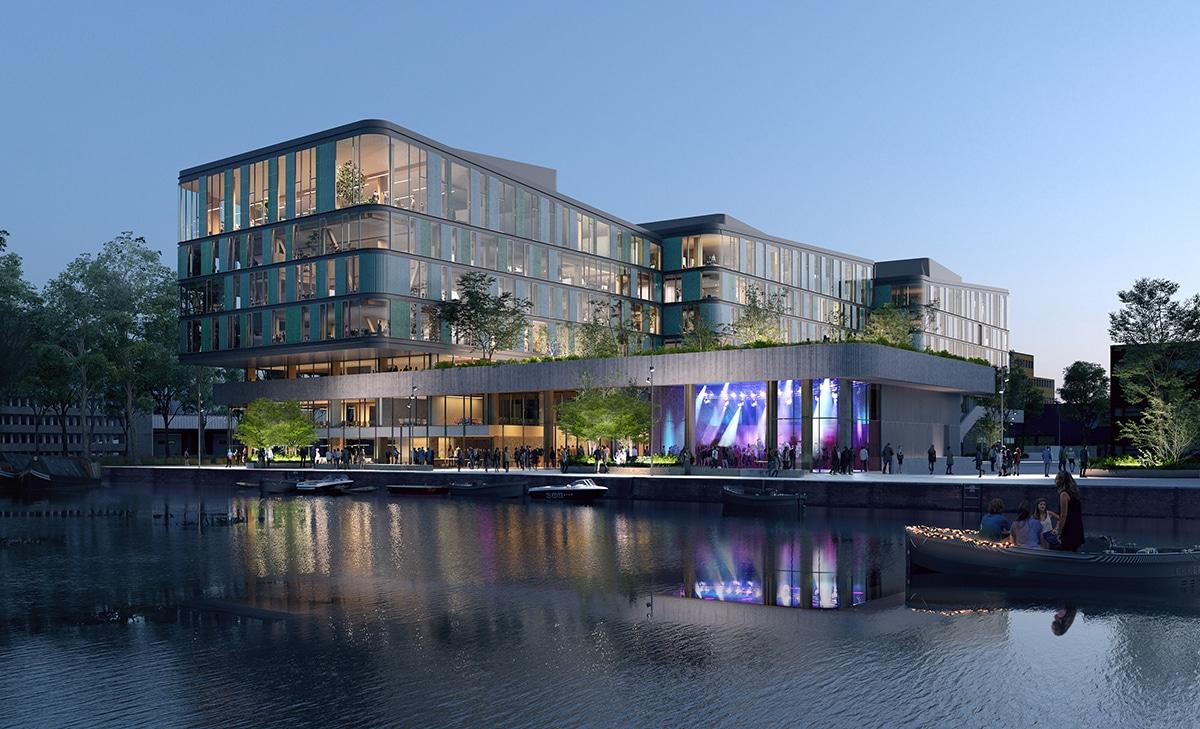 Nieuw houten hoofdkantoor voor DPG Media, DGMR