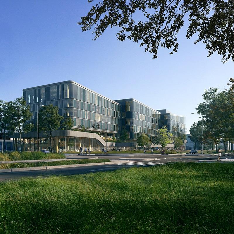 DPG Media in nieuw houten hoofdkantoor