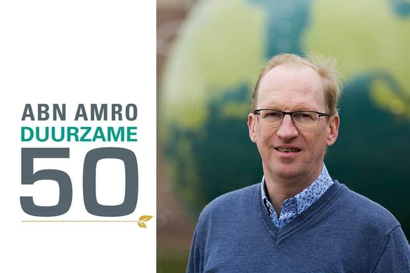 Paul van Bergen in ABN AMRO Duurzame 50 van 2020