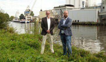 Rob Witte en Nick van den Heijkant vanuit DGMR betrokken bij Deltalinqs