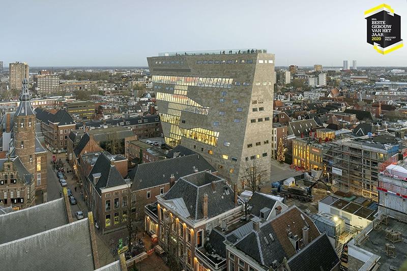 DGMR trots op BNA Beste Gebouw 2020 voor Forum Groningen