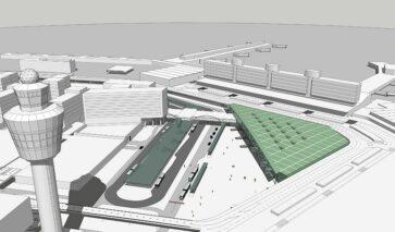Openbaar vervoersknooppunt Schiphol Plaza wordt aangepast | DGMR