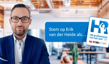 Nominatie Erik van der Heide voor HR-professional van het jaar