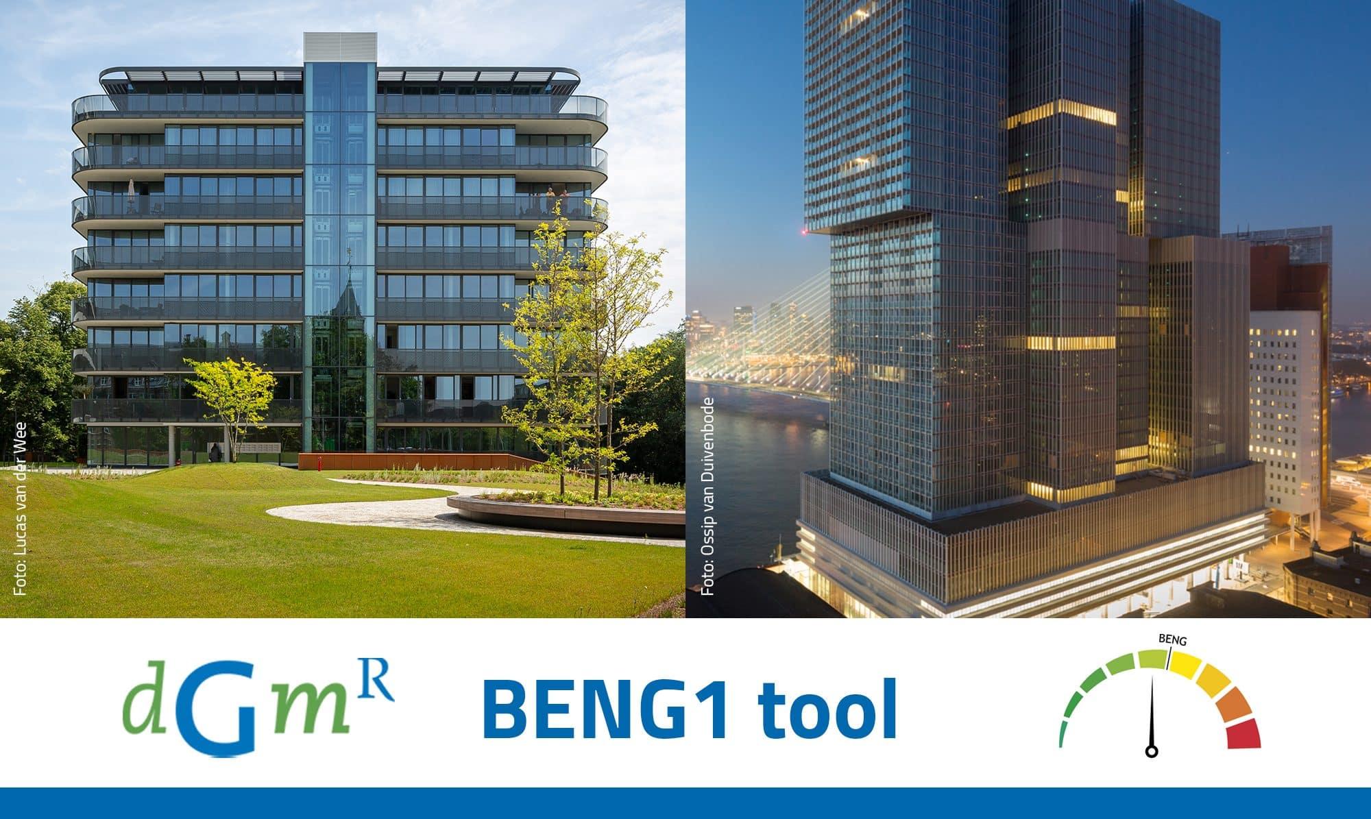 Ontwerpen met de nieuwe BENG1 tool van DGMR