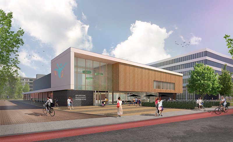 Nieuwe duurzame sporthal Middachtensingel in Arnhem | DGMR