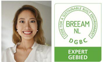 Wai Kee Man van DGMR is BREEAM-NL Expert Gebied