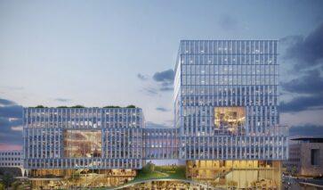 Kantoorgebouw Laanderpoort met hoge ambities op duurzaamheid | DGMR
