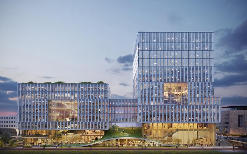 Kantoorgebouw Laanderpoort met hoge ambities op duurzaamheid   DGMR
